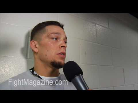 Nate Diaz: I'm Going to Go Out There And Fight Him