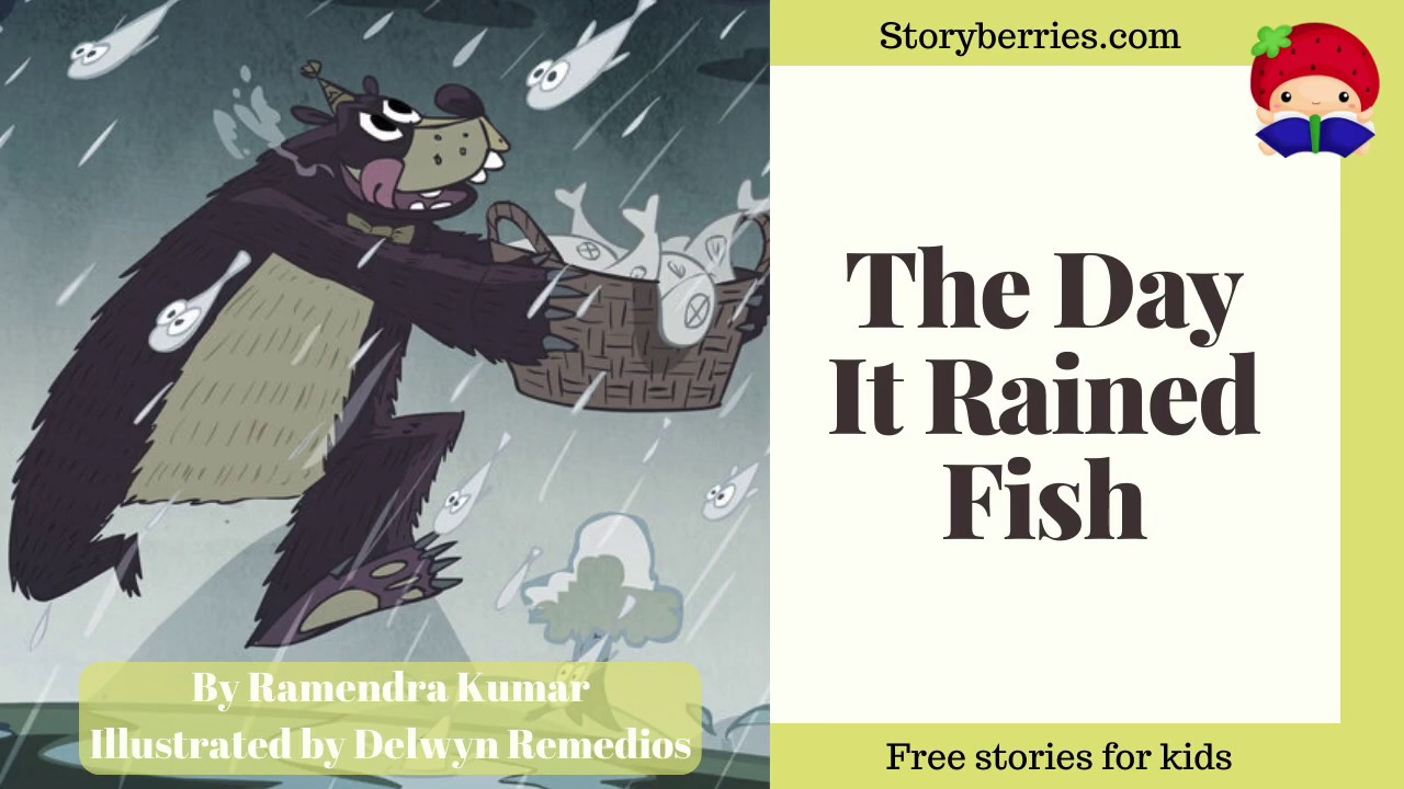 The Day It Rained Fish - Story for Kids about friendship (Animated Bedtime Story) | Storyberries.com