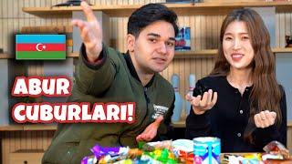 Kuzey Koreli Kıza Azerbaycan Aburcuburlarını Tattırdım!