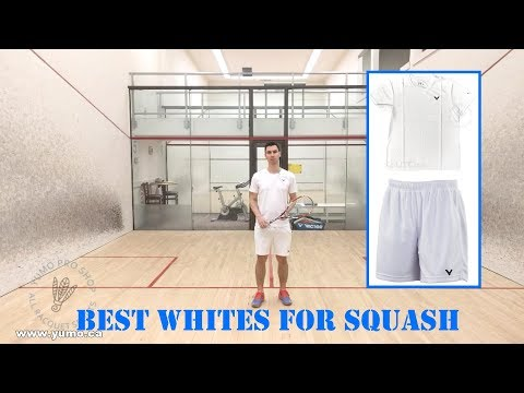 The Best White Sportswear For Squash, Tennis, Badminton, And All Racket Sports