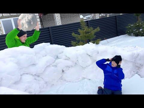 Прямой Эфир. Снежная битва и уборка снега