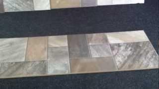 видео Ламинат под плитку керамическую водостойкий на кухню