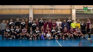 Legion XXI, матч по футгандболу: футболисты против гандболистов