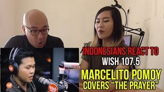"""Indonesians Reacts To Marcelito Pomoy """"The Prayer"""" (Celine Dion/Andrea Bocelli) LIVE Wish 107.5 Bus"""