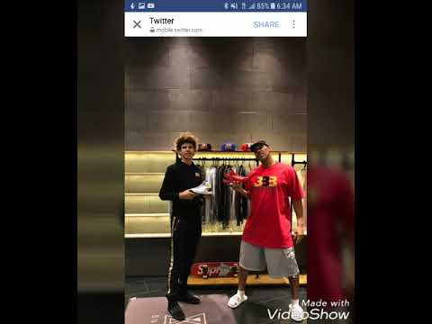 Big Baller Brand Pop UP Shop open on Friday in China