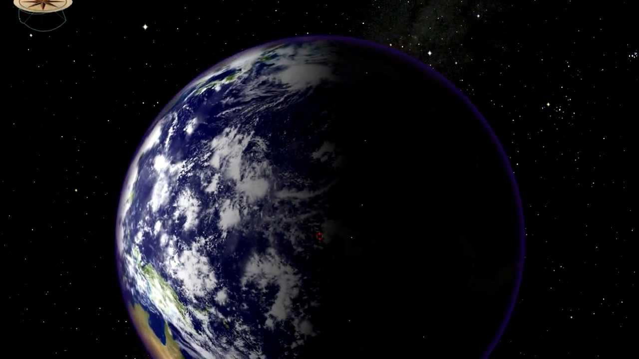 Dünyanın çevresi ne büyüklükte