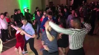 SALSA DANCE FRIDAY NIGHT FULL HOUSE AT SEATTLE SALSA CONGRESS 2018