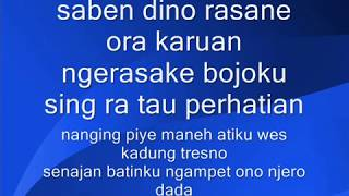 Bojo Galak Dangdut Karaoke