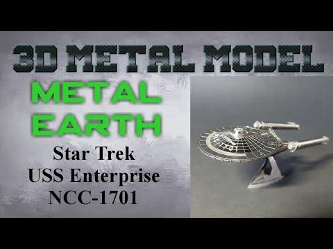 Metal Earth Build - Star Trek USS Enterprise NCC 1701