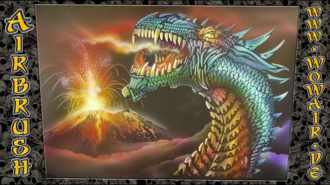 Dragon Airbrush Stencils