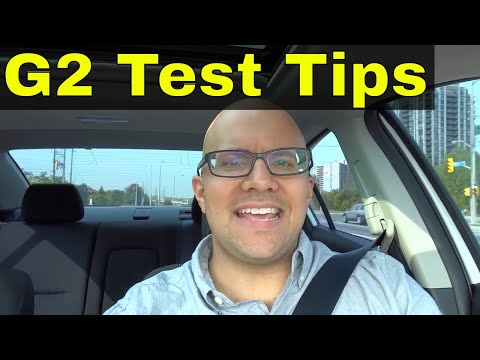 5 Driving Tips For Your G2 Road Test