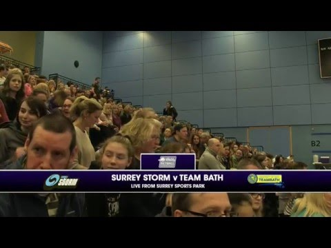 VNSL 2016 - Surrey Storm v Team Bath
