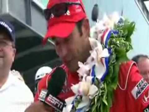Helio Castroneves Wins the 2009 Indy 500
