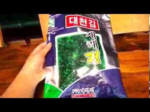 Самый вкусный Ким (прессованные сушеные водоросли)