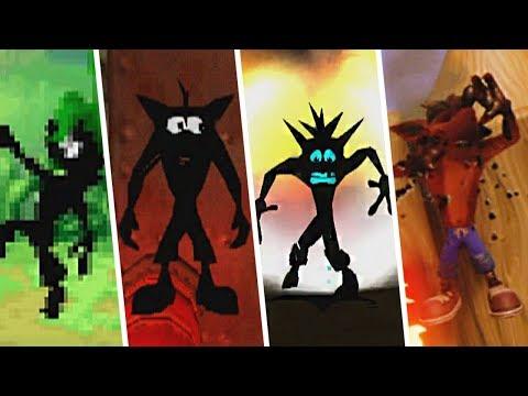 Evolution of Crash Bandicoot Burned Animation - Crash Bandicoot Games