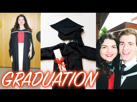 MY QUEENS UNIVERSITY BELFAST GRADUATION VLOG!