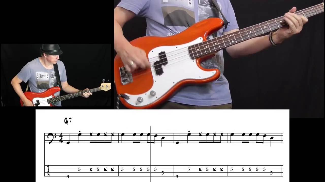 Grease - You're The One That I Want (Bass Cover with tabs in video)