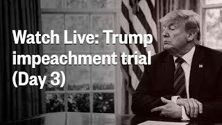 Senate Impeachment Trial Of President Trump | Day 3 | Nbc News  Live Stream Recording