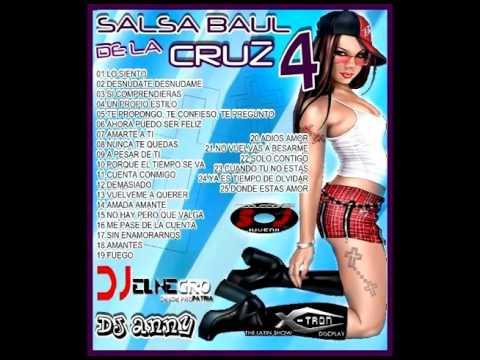 SALSA BAUL DE LA CRUZ VOL.  4 /DJ EL NEGRO// DJ ANNY/