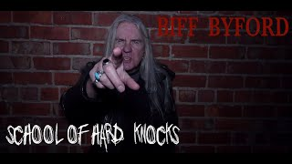 Biff Byford - School of Hard Knocks (Official Video)