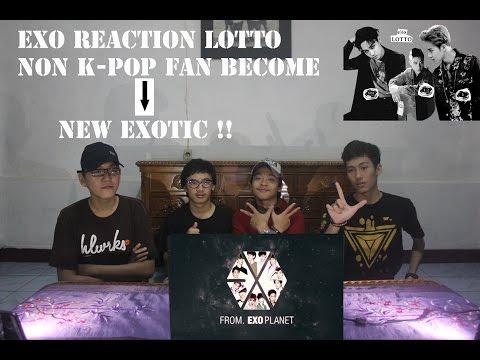 EXO - Lotto Mv Reaction ( Non Kpop Fan Become EXO - L ) Indonesian Guys