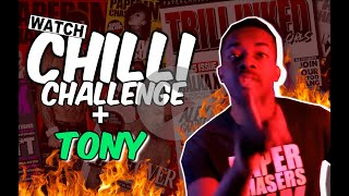 TATTOO GHOST CHILLI CHALLENGE | TONY