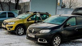 сравнение эффекта дополнительной шумоизоляции на Renault Sandero