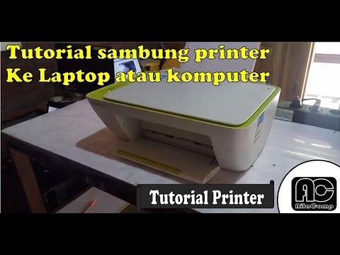 Cara Install Driver Atau Menghubungkan Printer Ke Komputer Dan Laptop Hp Deskjet Ink Advantage 2135 Youtube