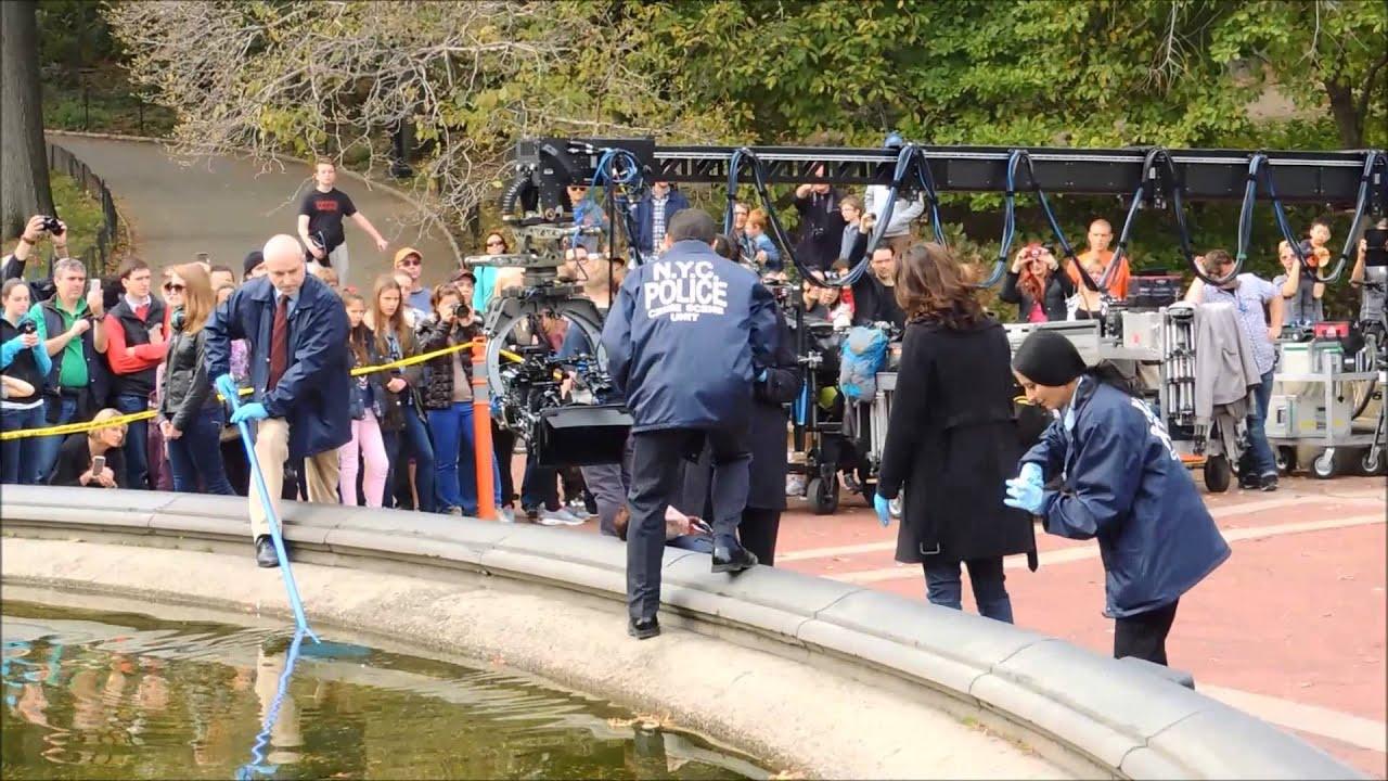 Central Park Tv Crime Scene Youtube