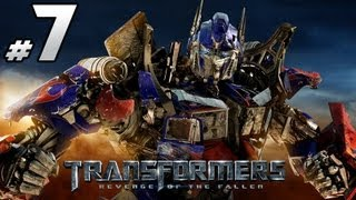 Transformers Revenge Of The Fallen - Autobot Campaign - Part 7 - Dead Cons Know Nothing