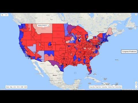 House of Representatives Election Predictions 2018