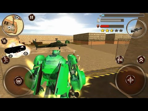 ► City Robot Battle #6 (Naxeex Corp) Grand Robot cars Carbot Android Gameplay