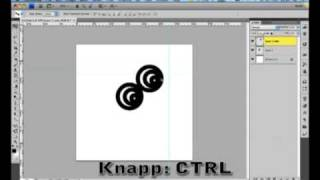 Photoshop tutorial - Move and free transform tool - (Norwegian/Norsk)