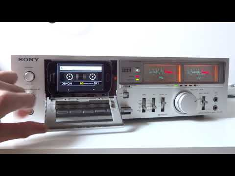 SONY TC-K51 As MP3/FLAC Player - Tapeless Deck Project
