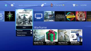 streaming ps4 warframe stream ended 122014