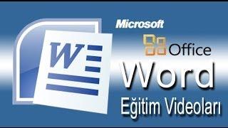 Word, Bölüm 1- Office Çalışma Alanı Temelleri