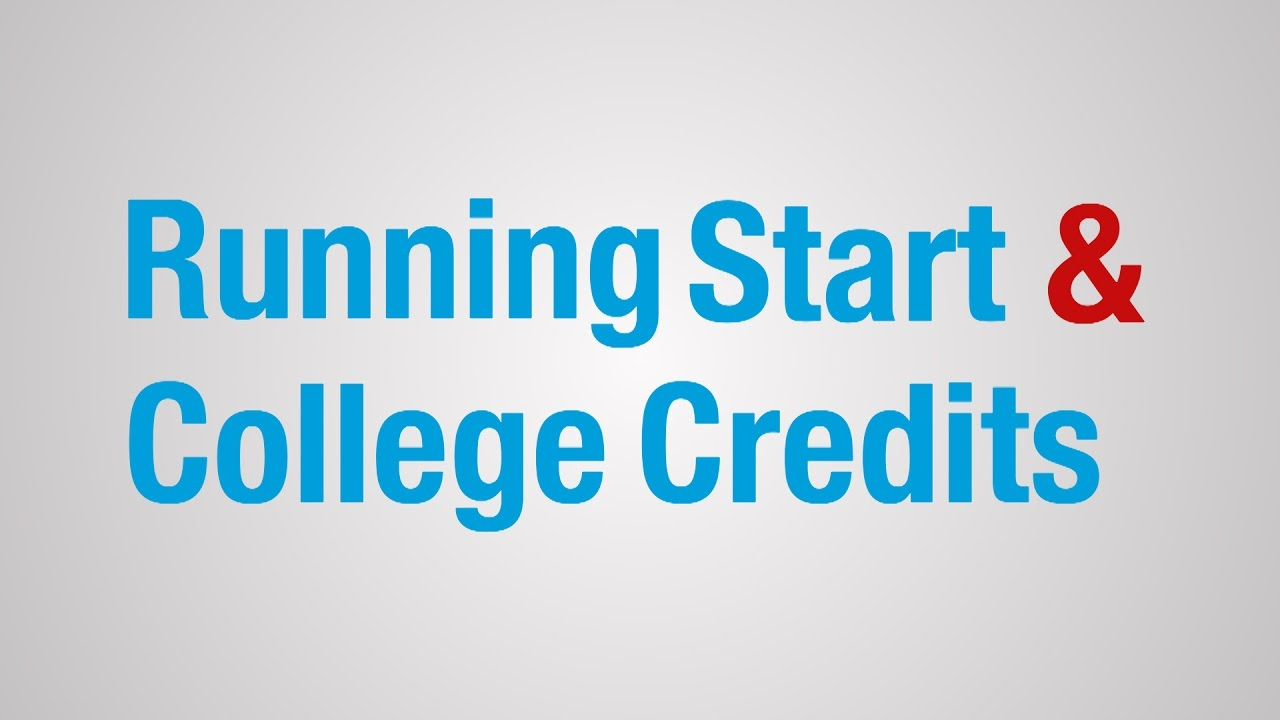 everett community college running start and college credits