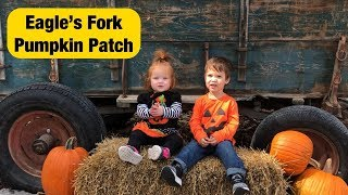 Eagles Fork Pumpkin Patch With My Niece & 2 Toddlers