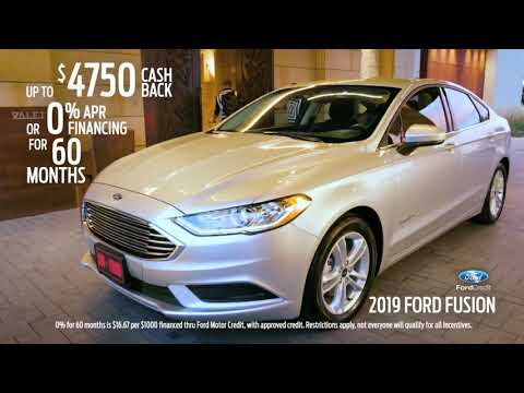 Memorial Day Specials on Ford Fusion and Fiesta