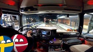 ⛴🚛Puttgarden-Rodby - Oresundbridge -Kamionos Svédországban