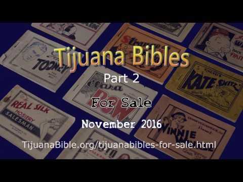 tijuana Bible Sale Winter 2016