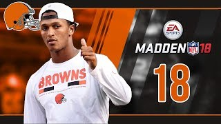 Madden NFL 18 Owner Mode (Cleveland Browns) #18 Wild Card vs. Jaguars