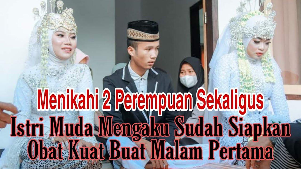 Download Kembali Viral Di Lombok NTB Pengantin Pria Menikahi Dua Perempuan Sekaligus |Video Viral Terkini