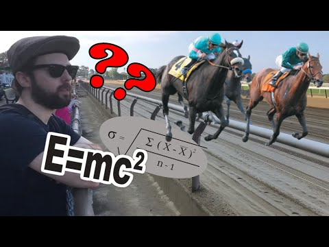 The Best Horse Racing Strategy & Analytics (Gambling Vlog #61)