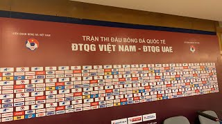 HLV Park Hang Seo khen Tiến Linh - Công Phượng sau Việt Nam 1-0 UAE