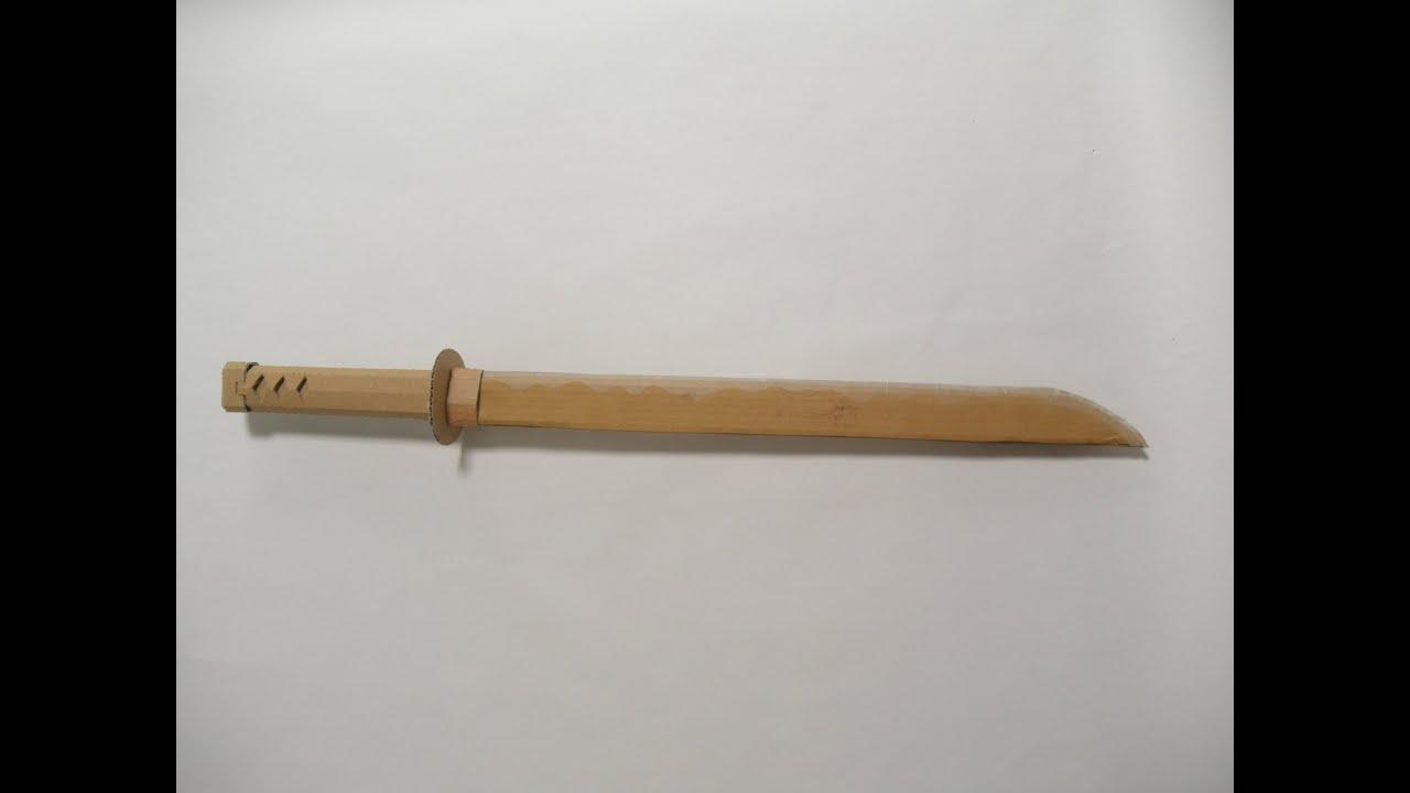 マイクラ 刀 作り方