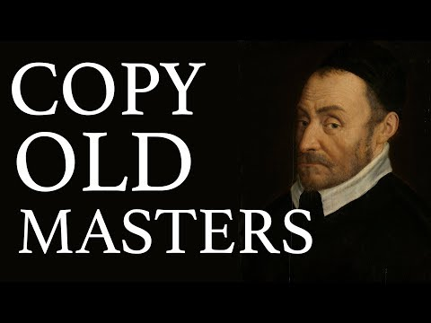 Copy old masters (Florence Academy of Russian Art)