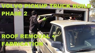 Volvo Pickup Truck Build Phase 2