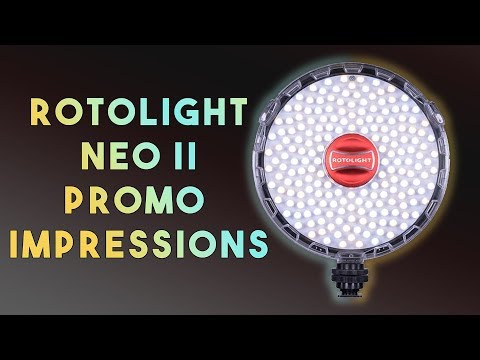 Impressions of the Rotolight Neo 2 - A Small Light with LED and HSS Flash
