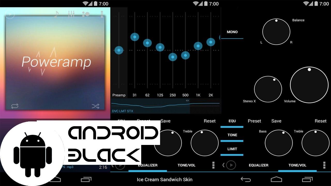 Android Black │Phần Mềm Nghe Nhạc Tốt Nhất Trên Android Giá Chỉ Bằng 3 Ly Trà Đá (Review PowerAmp)